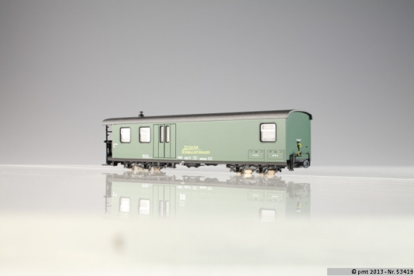 SOEG-Zug: Packwagen 974-121